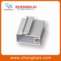 Mill finished/anodized/powder coated 6063-T5/T6 extruded aluminium and building materials