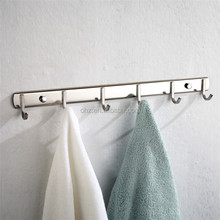 stainless steel coat hook and bathroom clothes hanging hook