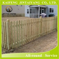 cheap price outdoor wooden fence garden fence board