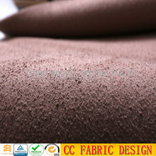 100% polyester leather sofa fabric with bronzed pattern for car , home textile ,dress