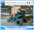 Tree root recycling machine