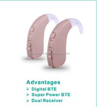 Siemens lotus digital high power bte hearing aid
