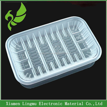 Disposable plastic fruit packaging tray with reasonable price