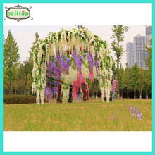 75-110cm artificial wisteria flower wedding stage decoration