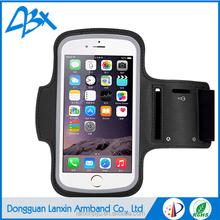 Hot new design running sport armband, water resistant case for iPhone 6&6s plus