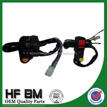 high quality motorcycle dimmer switch,motorcycle push button handle switch with high reputation,different models