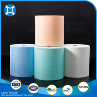 Latest Design Nonwoven Spunlace Lint Free Kitchen Wipes Paper