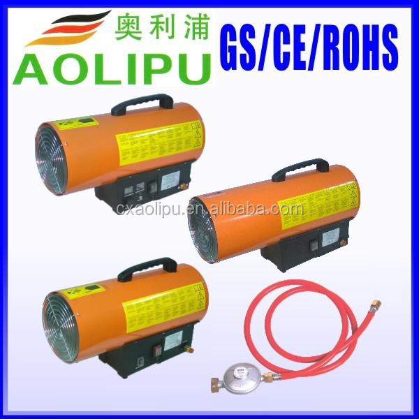 LPG Propane Gas Forced Air Space Heater 10kW 15kW 30kW 50kW CC