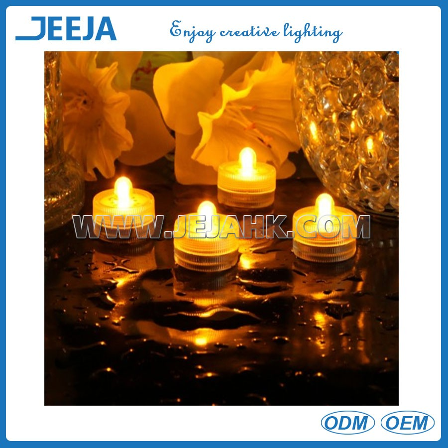 Battery operate tea light flameless led candle light wholesale
