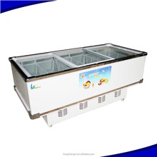 High Quality Island open top display refrigerator Cooler