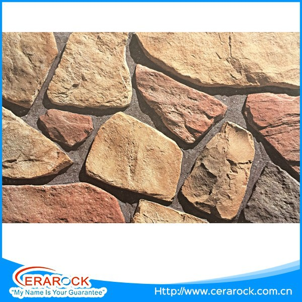 Used on inside and outside walls compact stone