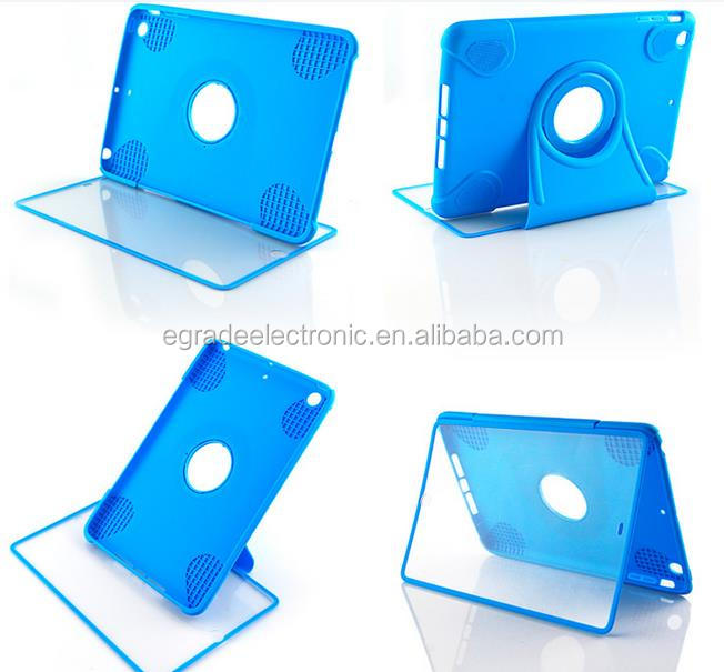 transparent touch screen protection shell multi-functional stand rotation protection shell for Ipad mini / 2