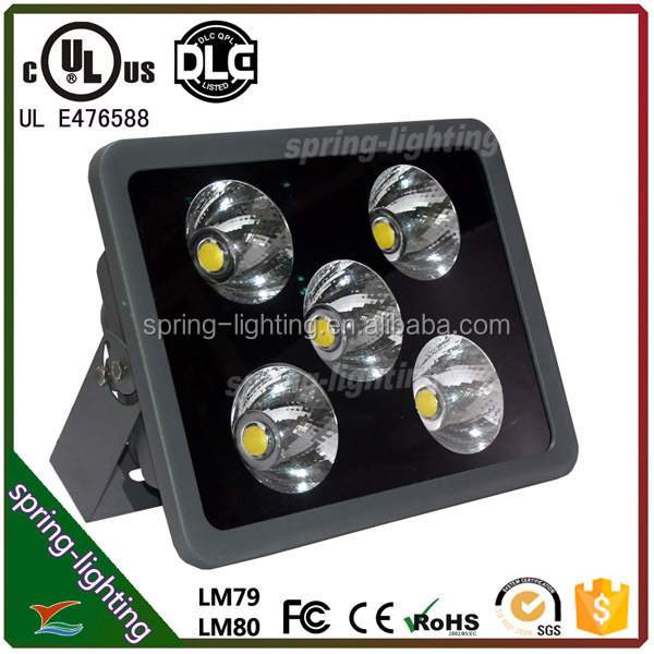 small lens angle 9/12 degree IP65 COB led outdoor flood light 200w waterproof 5 years warranty