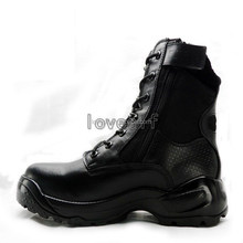 2014 factory prices discount fashionable men winter American style black cheap military boots with military boots