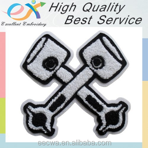 high quality logo chenille embroidery manufacture