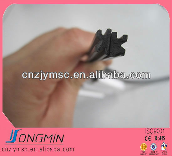 screen window rubber magnetic strip door seal