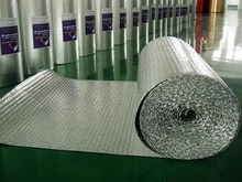 Car interior bubble foil roof insulation