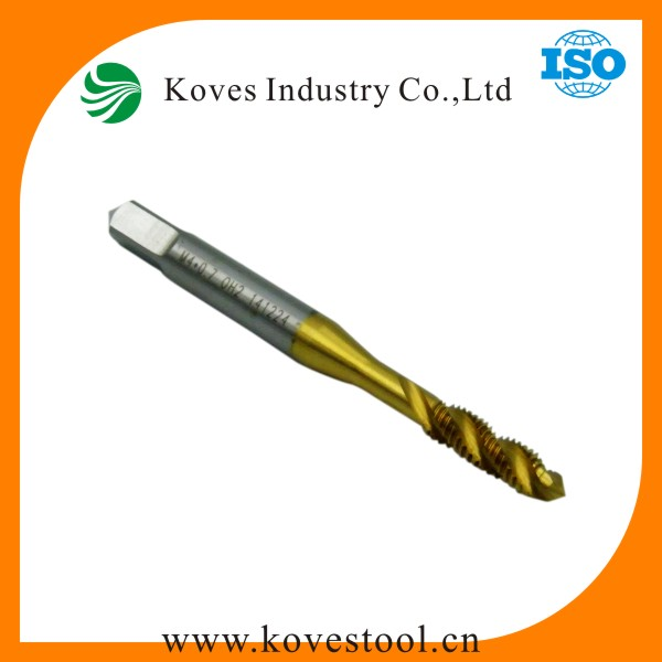 TIAIN coated carbide cutting tools Taper Thread Cutting Taps