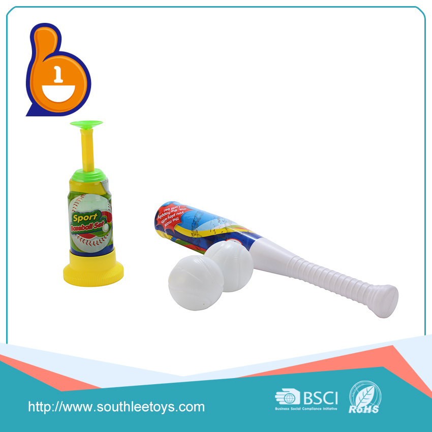 China toy factory wholesale novel outdoor set toy plastic baseball bat for children