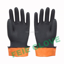 cheap hand work electrical rubber gloves