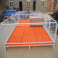 China Pig Breeding Equipment And Supplies Zimbabwe Galvanized Steel Wire Pig Farrowing Pens For Piglets