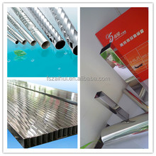 mirror polished welding stainless steel ornamental tubing