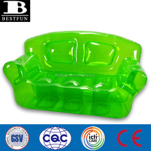 high quality inflatable bubble sofa transparent inflatable beach chair durable inflatalbe green chesterfield sofa furniture