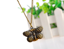 Wholesale butterfly pendant watch cheap factory yiwu watch