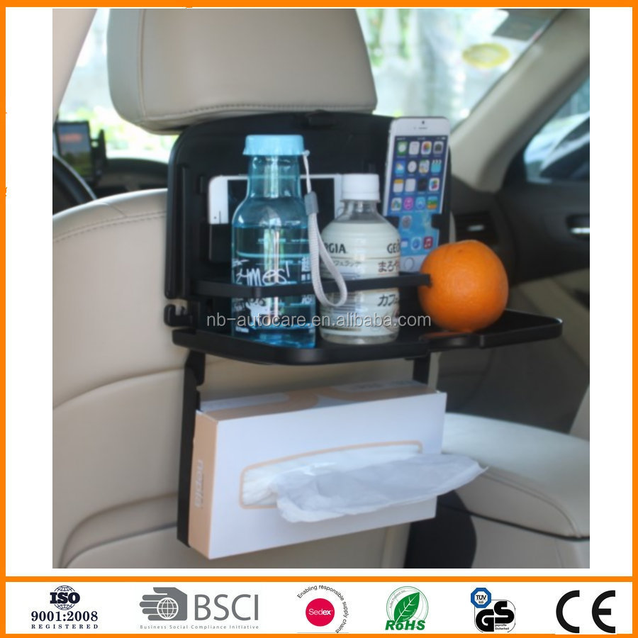 new car phone food drink snack phone tray