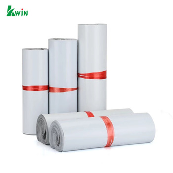 Standard Plastic Online Shopping White Mailing Bags With Self-Adhesive