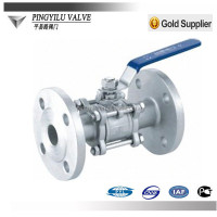 1 inch ball valve for pipeline of nitric acid