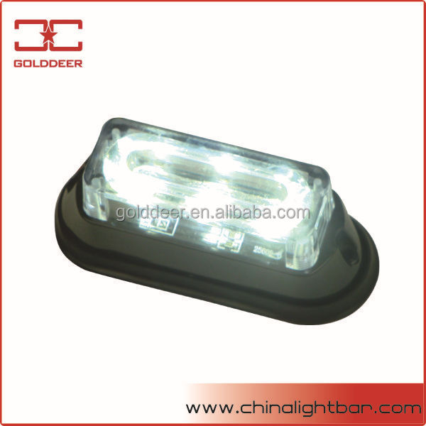 White Gen-3 LED Car Auto Flashing Led Warning Lights