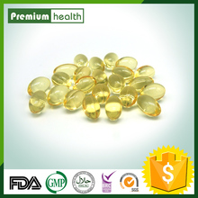 GMP Certified D-Alpha Tocopherol Vitamin E Softgels in bottles/blister 100IU-1000IU