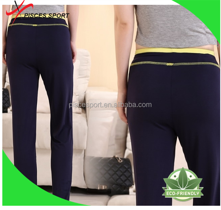 anti-wrinkle womens jogger pants sports half pants in stock