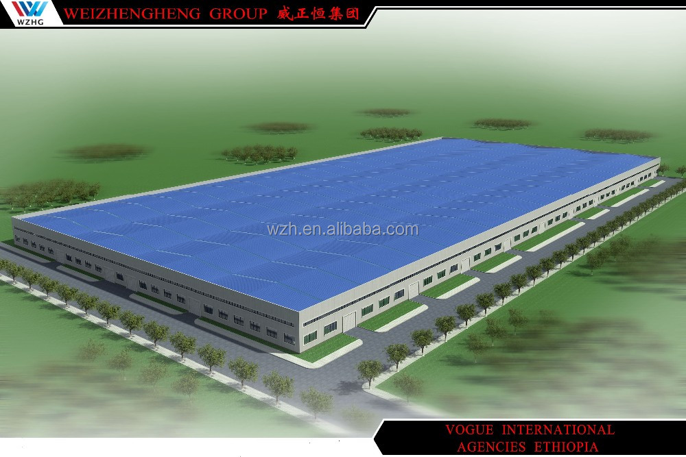 pre fabricated steel structure car wash construction