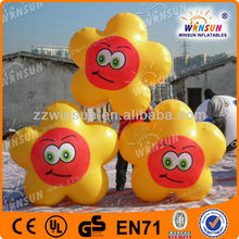 New design advertisement lighting LED giant inflatable flower decoration