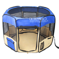 Adjustable pet fence baby portable playpen dog tent pet fence