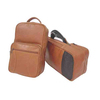 Corporate Leather Golf Shoe Bag