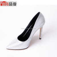 2016 custom pure handmade pointed toe cow leather White rhinestones party shoes jeweled wedding bridal shoes