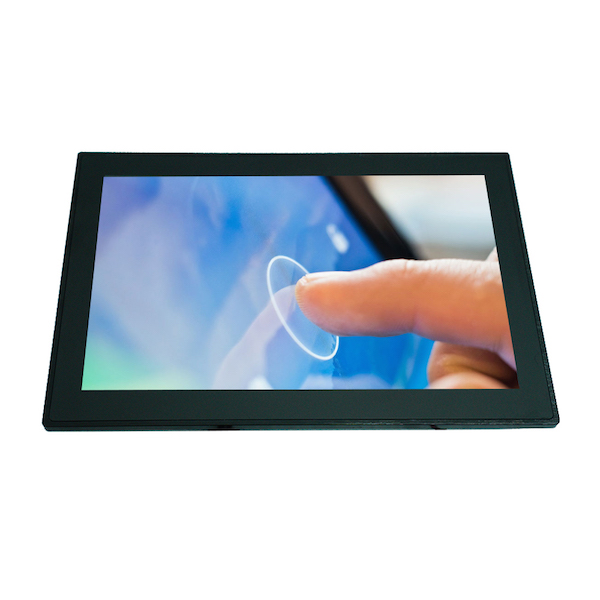 front panel waterproof ip65 10 inch usb touchscreen monitor