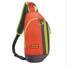 Cheap wholesale nylon outdoor sports chest bag pack, fashion men chest bag for sports