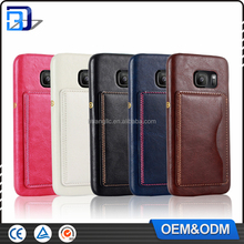 2016 luxury leather Phone mobile Case smartphone case for Samsung Galaxy S7 Edge