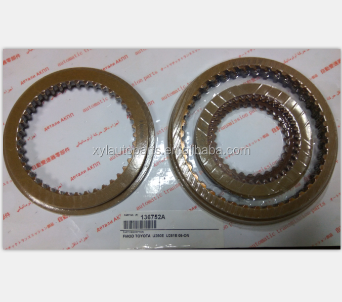Gearbox Parts U250 Transmission Clutch Friction Plate Disc <strong>U250E</strong> 05-ON