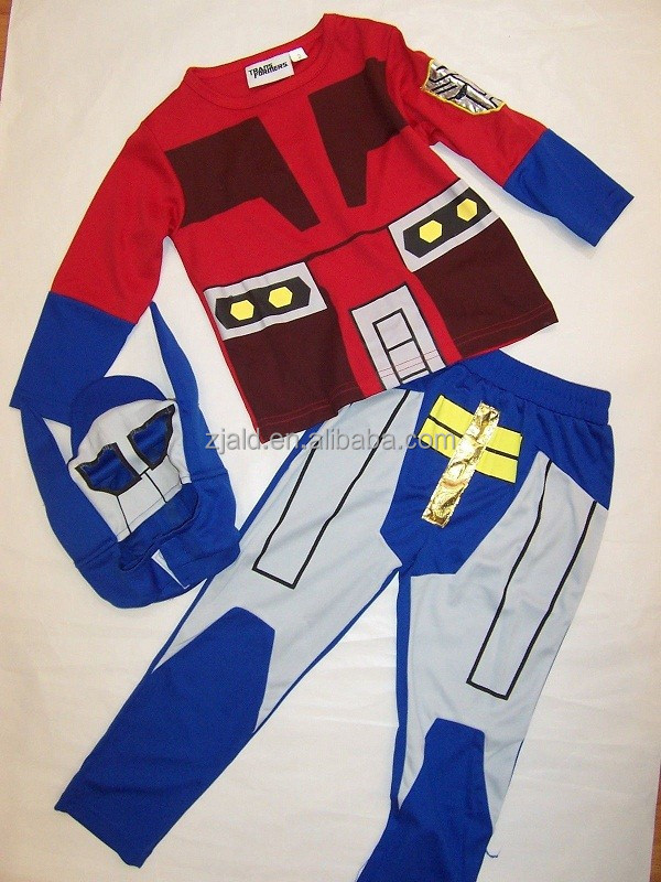 Optimus and bumblebee transformer costume to boy