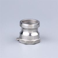 Stainless Steel A camlock Coupling