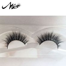 Invisible band 3d mink lashes own brand eyelashes