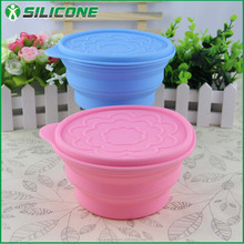 Wholesale COL-01fashionable food grade silicone antique fruit bowl