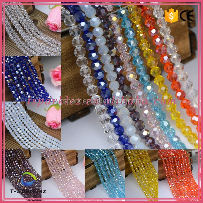 Ball Glass Beads Jewelry Beads Fancy Discount Beaded Wholesale