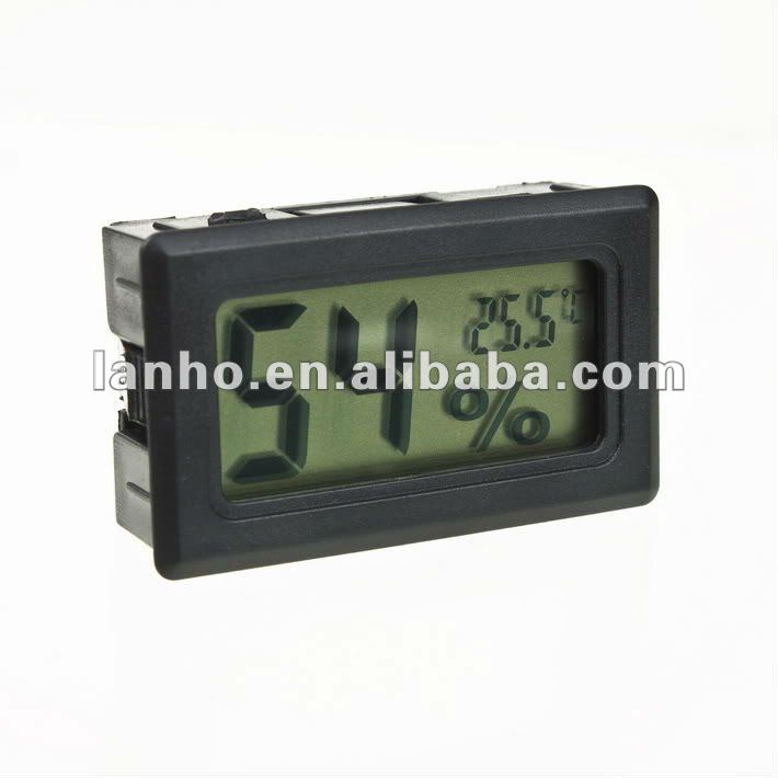 Mini Digital LCD Thermometer Temperature Humidity Meter Gauge Hygrometer Indoor
