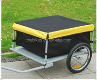 2 wheels bicycle cargo trailer